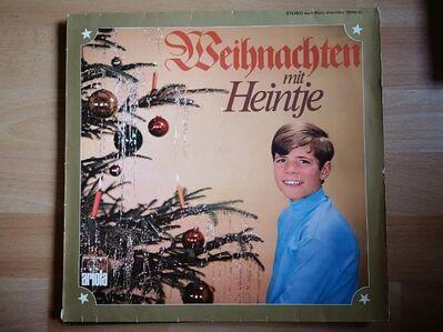 Weihnachten mit heintje  LP Vinyl - Plettenberg Zentrum
