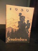 Antikes Jahrbüchlein für Jungen und Mädel Freudenborn 1939 / Jugendherberge
