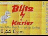 """Blitz-Kurier: MiNr. 9 B, 02.05.2006, """"2. Ausgabe"""", Wert zu 0,44 EUR netto, glänzendes Papier, postfrisch - Brandenburg (Havel)"""