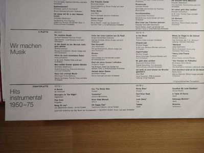 LP 50 Jahre Schlager 6 Schallplatten Vinyl 1900-1950 - Plettenberg