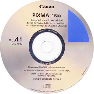 CANON ip1500 Setup-Software & Benutzerhandbuch / Driver CD-R (2) - Andernach