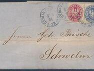 Altdeutschbrief,Berlin nach Schwelm,02.03.1864,MiNr.16-17,Lot 317