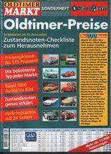 Oldtimer Markt Sonderheft Nr. 40 2007 Oldtimer-Preise