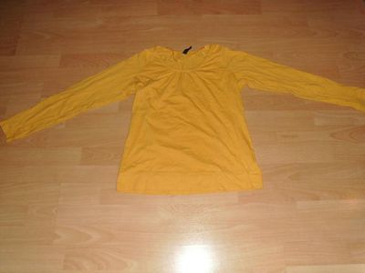 Langarmshirt von Colurs of the world, senfgelb, Gr. 38 - Bad Harzburg