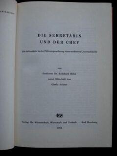Professor Dr. Reinhard Höhn - Die Sekretärin und der Chef - Niddatal Zentrum