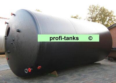 T1 gebrauchter 23.600 L Stahltank Emaillierung Löschwassertank Melassetank Molketank Lebensmitteltank - Nordhorn