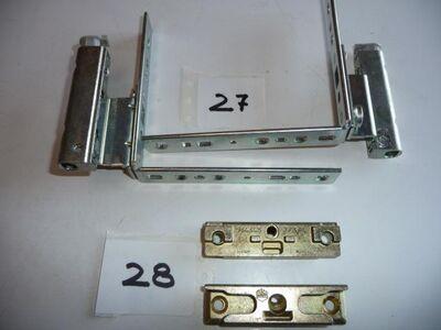 je 2MACO-Pilzzapfen-Schließblech,EUROFALZ,34460,gelg chrom - Ritterhude