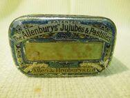 Antike Halspastillendose / Tin / The Allenburys Jujubes & Pastilles / um 1870 - Zeuthen
