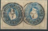 Österreich 2x15 Kreuzer.,1860-64,Mi:AT 22,  Lot 465