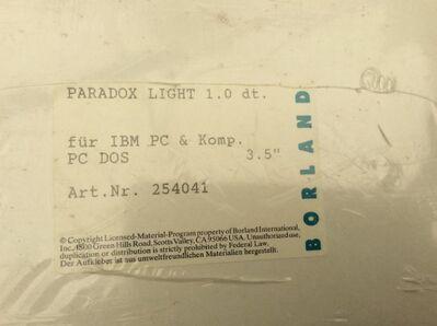 BORLAND    Paradox light - Gladbeck