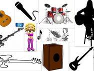 Musikunterricht online, Gitarre, Bass, Cajon, Drum, Banjo, Ukulele, Gesang u.a. - Schotten