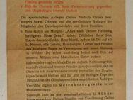 Gebetszettel für Februar 1946 - Original