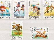 Olympia-Briefmarken 1992 Barcelona von VietNam  [360] - Hamburg