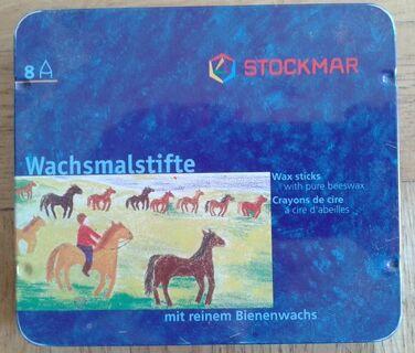 Stockmar Wachsmalstifte 8 Stück - Krefeld