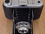 alte Wester Fodorsix Rollfilmkamera 6x6 Fotoapparat Klappkamera mit Ledertasche - Landsberg (Lech)
