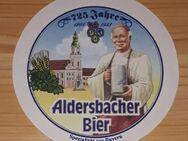 725 Jahre Aldersbacher Bier - 1268 - 1993 Bierdeckel BD - Nürnberg