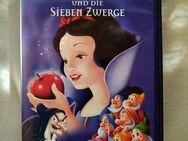 Walt Disney's Meisterwerke VHS Schneewittchen und die sieben Zwerge - Kassel Niederzwehren