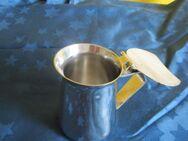 Schönes Espresso-Milchkännchen aus Edelstahl Rostfrei, auch zur Dekoration geeignet! - Braunschweig