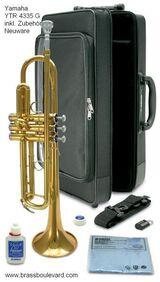 Orig. Yamaha YTR 4335G, B-Trompete. originalverpackte Neuware mit Garantie