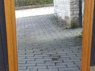 8-Eck-Spiegel mit Rahmen Eiche natur, Höhe 92 cm x Breite 59 cm - Büchenbach