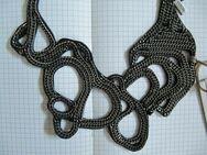 REPLAY, Halskette, Schlangenform, schwarz, Edelstahl Kette, UVP: 69€ - Düsseldorf