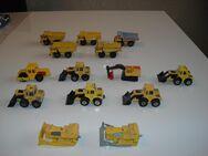 14 alter Matchbox Baustellenfahrzeuge - Amstetten