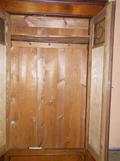 Jugendstil Kleiderschrank in Eiche / zweitüriger Schrank zum Restaurieren - Zeuthen