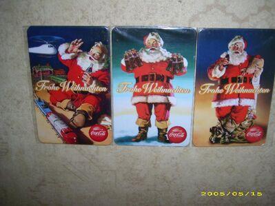 Coca-Cola Metall Postkarten - Wiesbaden