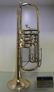J. Scherzer Profiklasse Konzert - Trompete 8218 W mit Überblasklappe, Neuware - Hagenburg