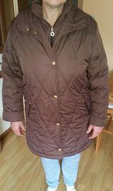 braune Winterjacke für Damen Gr.40