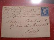 Frankreich,Briefumschlag Rodez nach Toulous 06.04.1862,Lot 200