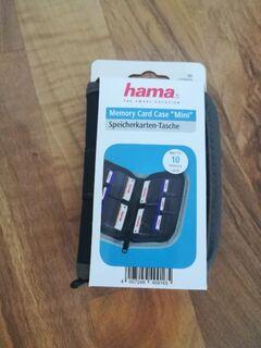 Hama Speicherkarten-Tasche Mini für 10 Speichermedien, Schwarz/Grau - Hamm Zentrum
