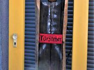 """GrosseSkulptur """"Türsteher"""" sehr stabil,auch für Aussenbereich.muss aus unseremKunsthaus wegen Abriss - Münster (Hessen)"""