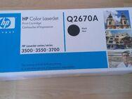 Neuer Original HP Q2670A Toner Schwarz - Frankfurt (Main)