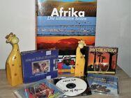 Afrika, Africa: 6 versch. CD's mit Musik, Buch, Giraffen, Tribal, Mystik - Bad Berka