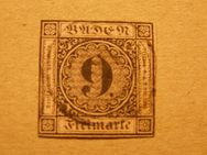 Baden 9 Kreuzer,1851-52,Mi.Nr.4,Lot 346