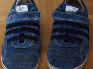Lepi Schuhe Gr. 39, schickes Blau - Münster