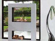Xaralyn Lasize Concrete Look Bioethanolkamin mit Keramik Brenner