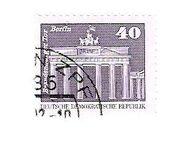 DDR Briefmarken gestempelt - Berlin Reinickendorf
