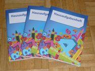 3 x DIN A5 Hausaufgabenhefte - NEU - Sonsbeck
