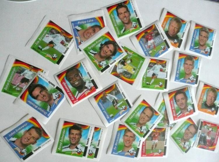 Sammelbilder WM 2006 von Hanuta - Niederfischbach