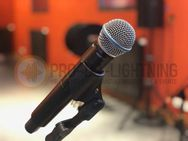 Mikrofon Shure SM58 QLXD24 - Funkmikro - Gesangsmikrofon mieten - Wismar