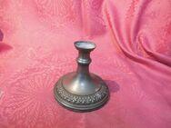 Antiker Kerzenständer / Kerzenhalter / Tischleuchter / Standleuchter Zinn 1900 - Zeuthen