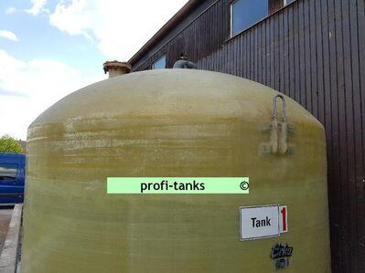 P58 gebr. 20.000 L Polyestertank GFK-Tank Erka-Tank Wassertank Molketank Futtermitteltank Soletank Gülletank - Nordhorn