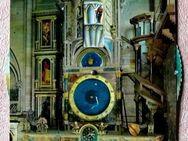 Mechanische Ansichtskarte der astronomischen Uhr von Strassburg - Niederfischbach