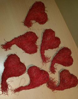 7 x Stück Deko Herzen - Verden (Aller)