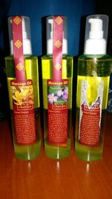 (3) Massage Oil Sen Spa vitamin-E enriched rice gem oil well absorbed with non-greasy feel Product of Thailand 100ml Sweet Dream Relaxing 100ml Lotus Only Peace and Deep Joy 100ml Oriental Sweet Versiegelung beschädigt NEU VERKAUFSWARE