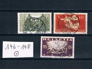 Schweiz Friedensvertrag,1919-20,  Mi:CH 146-48,Lot 455