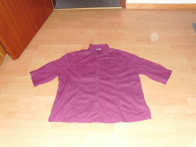 Bluse von Gina Laura, lila, Gr. 50 - Bad Harzburg Zentrum