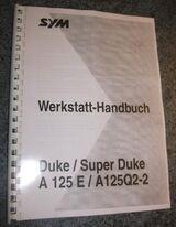 Werkstatthandbuch für SYM Motorroller Super Duke